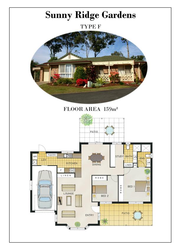 TYPE F - Floor Plans