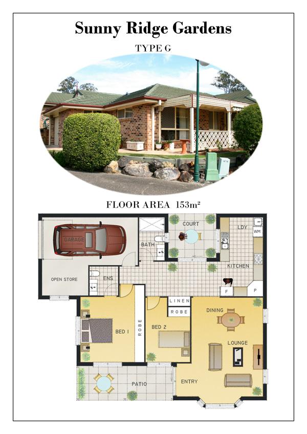 TYPE G - Floor Plans