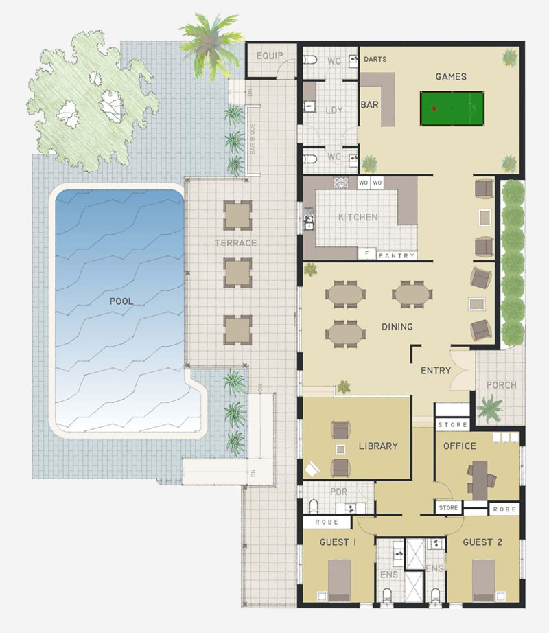 Community Centre Floor Plan